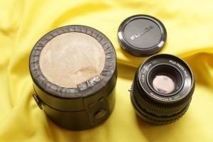 Lensa Manual - EBC X-Fujinon Wide 35mm F/2.8