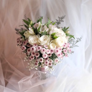 Jual Bridesmaid Or Proposal Bouquet Bunga Bridesmaid Lamaran Seserahan Kota Tangerang Selatan Angelica Petals Tokopedia