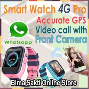 Smart Watch Anak Anak 4 G Pro Watch Phone Model Imo