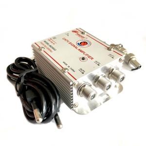 CATV Signal Amplifier Newsat   Booster Penguat Sinyal Antena 3 Way