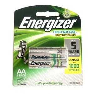 Baterai Cas Energizer AA 2000 mAh   Battery Recharge Power Plus