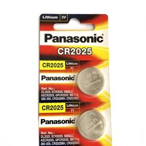Baterai Lithium Coin Kancing Panasonic CR2025 3V