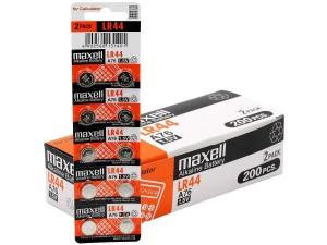 Baterai Kancing Maxell LR44 A76 1.5V   Kalkulator AG13