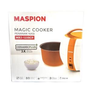 Magic Com Rice Cooker Maspion 1.2L MRJ-1239   Penanak Nasi 3 in 1