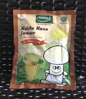 Totole Kaldu Rasa Jamur 80gr / Mushroom Bouillon non MSG