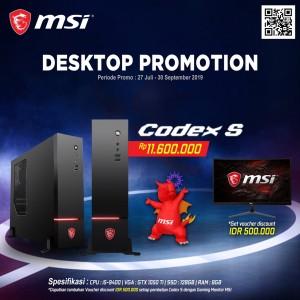 MSI CODEX S GAMING DESKTOP PC