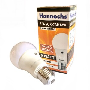 Lampu Hannoch Sensor Cahaya   Photo Cell Light Censor