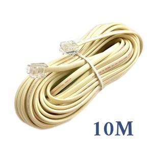 Kabel Telephone Kitani 10 Meter   Telepon 4 Pin RJ11 10M