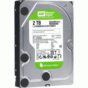 Western Digital WD Green (WD20EARX) - 2 TB, SATA3, IntelliPower