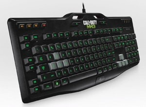 Logitech Gaming Keyboard G105 : Made for Call of Duty