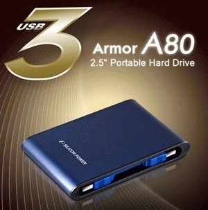 Silicon Power A80 - 1 TB, USB 3.0