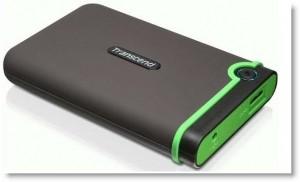 Transcend StoreJet 25M3 - 1 TB, USB 3.0