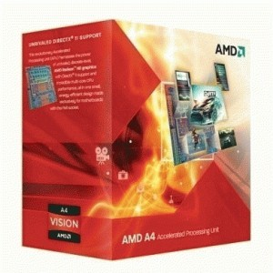 AMD Llano A4-3400 Processor (1M, 2.7 GHz)