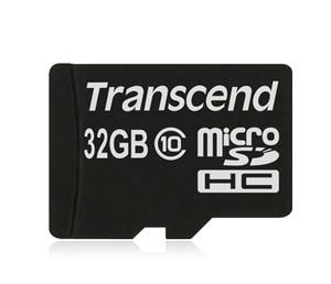 Transcend microSDHC 32 GB Class 10