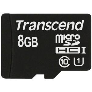 Transcend microSDHC 8 GB Class 10 UHS-I 300x
