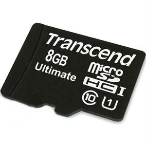 Transcend microSDHC 8 GB Class 10 UHS-I 600x
