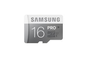Samsung microSDHC 16 GB PRO