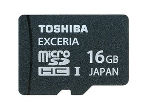 Toshiba microSDHC 16 GB Exceria