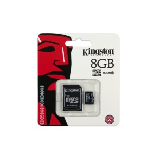 Kingston microSDHC Card - Class 10 - 8 GB