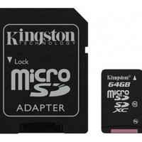 Kingston microSDHC Card - Class 10 - 64 GB