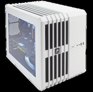 CORSAIR Carbide Series Air 240 Arctic White High Airflow Micro ATX and Mini-ITX PC Case