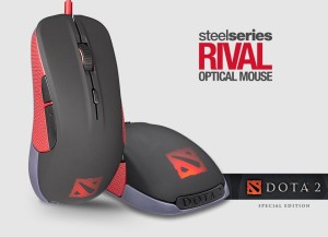 SteelSeries RIVAL OPTICAL MOUSE DOTA 2 Special Edition