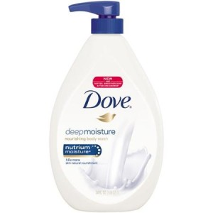 Dove - Deeply Nourishing Body Wash - 550ml