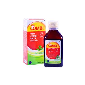 OBH Combi Batuk Plus Flu Rasa Menthol 100ml