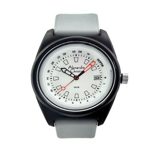Jam Tangan Alexandre Christie 6431 Putih Abu