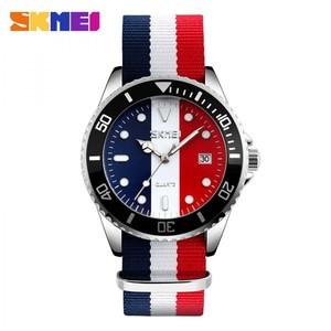 Jam Tangan SKMEI 9133 Merah Putih Navy