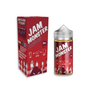 Jam Monster 250ml - Strawberry