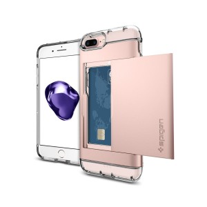 Spigen Crystal Wallet - iPhone 7 Plus