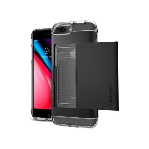 Spigen Crystal Wallet - iPhone 8 Plus