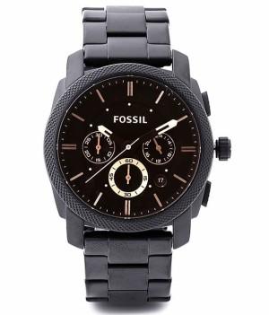 Jam Tangan Fossil FS4682 Machine Chronograph Dark Brown Dial