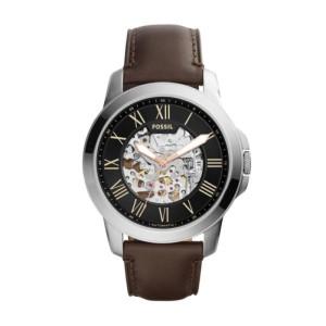 Jam Tangan Fossil ME3100 Grant Black Skeleton Dial