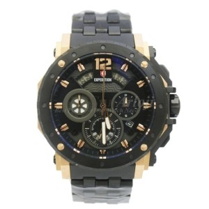 Jam Tangan Expedition E6402M Black Gold