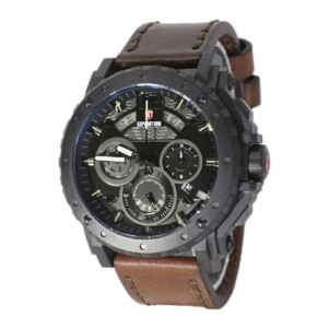 Jam Tangan Expedition E6402M Leather Brown