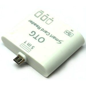 5 in 1 Micro USB Card Reader