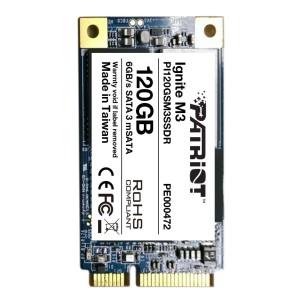 Patriot Ignite M3 mSATA III 120GB SSD