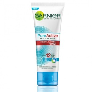 Garnier Pure Active Acne & Oil Clearing Foam - 100 mL