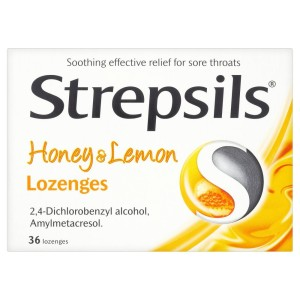 Strepsils Honey & Lemon