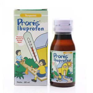 Proris Suspensi 60 Ml Rasa Jeruk