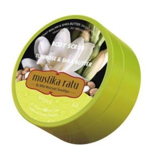 Mustika Ratu Tuberose & Shea Body Scrub - 200 Gr
