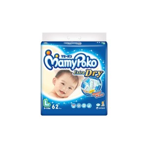 MamyPoko Popok Perekat Extra Dry L Isi 62