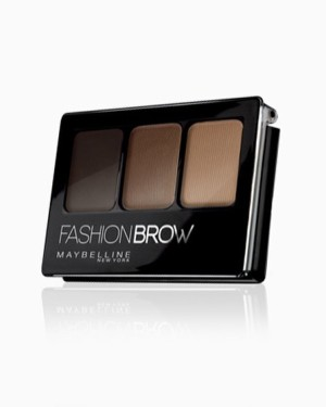 Maybelline Fashion Brow 3D Palette Dark Brown - 3 Gram