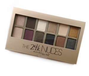 Maybelline The 24K Nudes Eyeshadow - 9.6 Gram