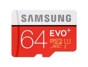 Samsung EVO Plus 64GB microSDXC Card 80mb/s