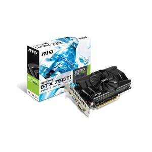 MSI GeForce GTX 750Ti - N750TI-2GD5/OC