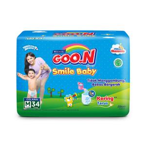 GOO.N Popok Celana Smile Baby M Isi 34