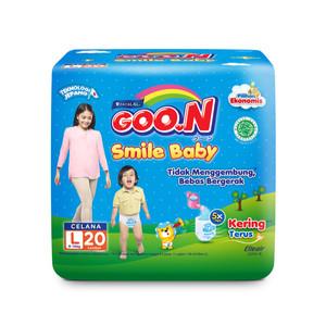 GOO.N Popok Celana Smile Baby L Isi 20